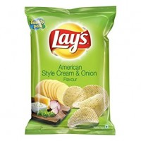 Lay's Potato Chips - American Style Cream And Onion Flavour,